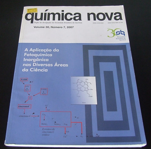 Química Nova Volume 30 N° 07