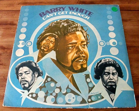LP Barry White - Can't Get Enough