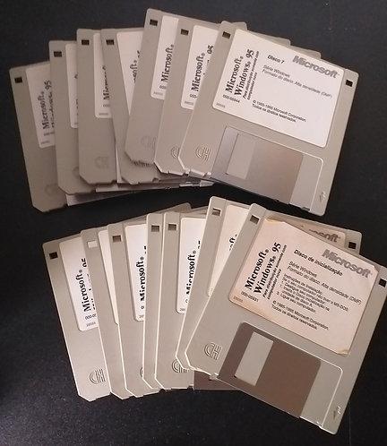 Disquetes de Instalação do Microsoft Windows 95