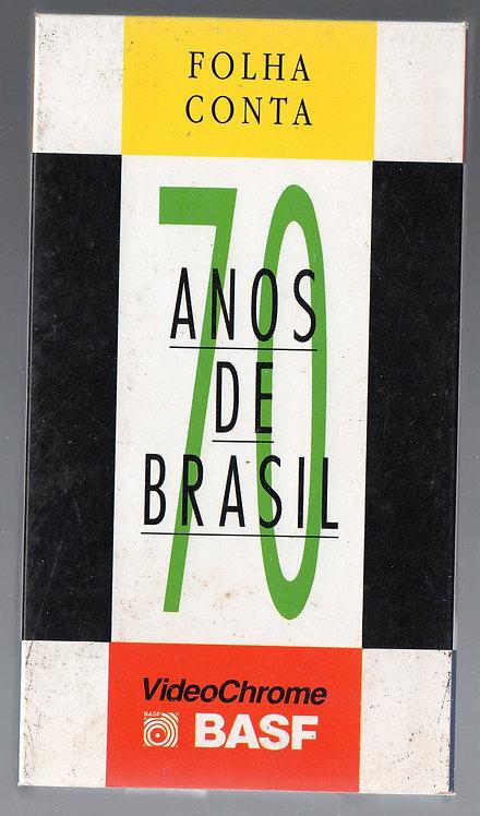 VHS Folha Conta 70 Anos de Brasil