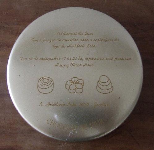 Lata Vazia Chocolat du Jour