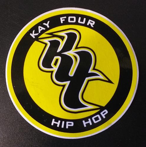 Adesivo Kay Four Hiip Hop