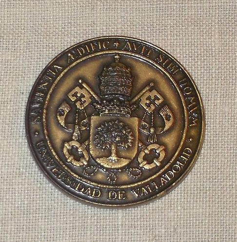 Medalha Comemorativa Universidade Valladollid