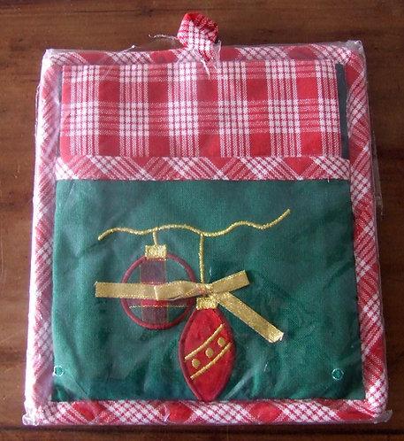 Holiday Kitchen Set - Kit Pano de Natal