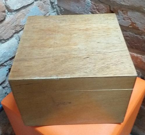 Caixa Fichário Madeira