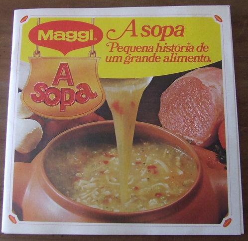 Receituário Antigo Maggi A Sopa