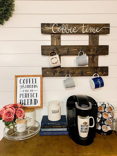 Custom Coffee Mug Holder