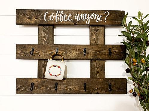 Coffee, Anyone? Mocha Mug Holder