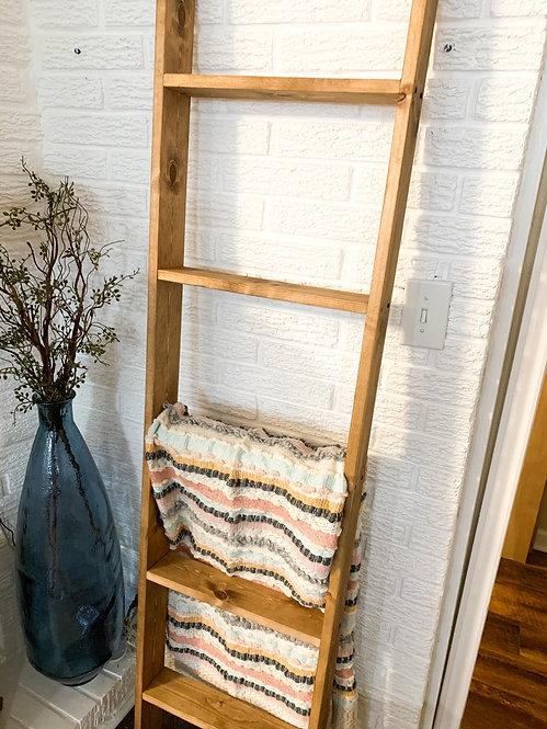 6 Foot Special Walnut Ladder
