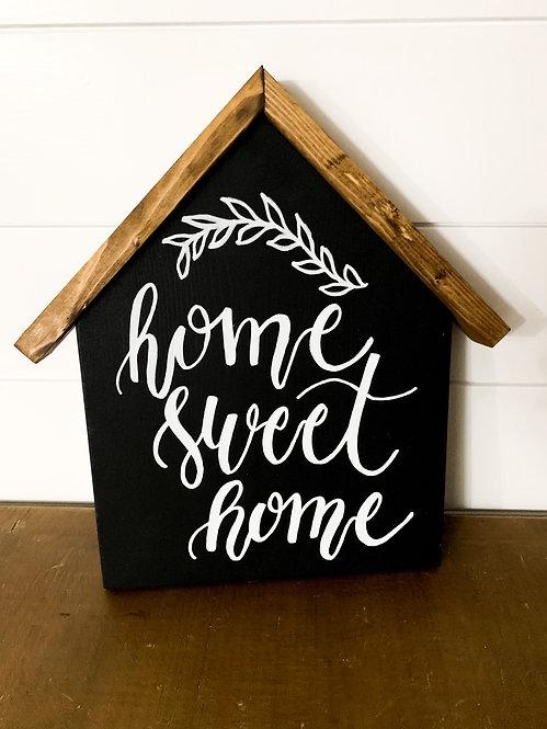 Home Sweet Home Wood House