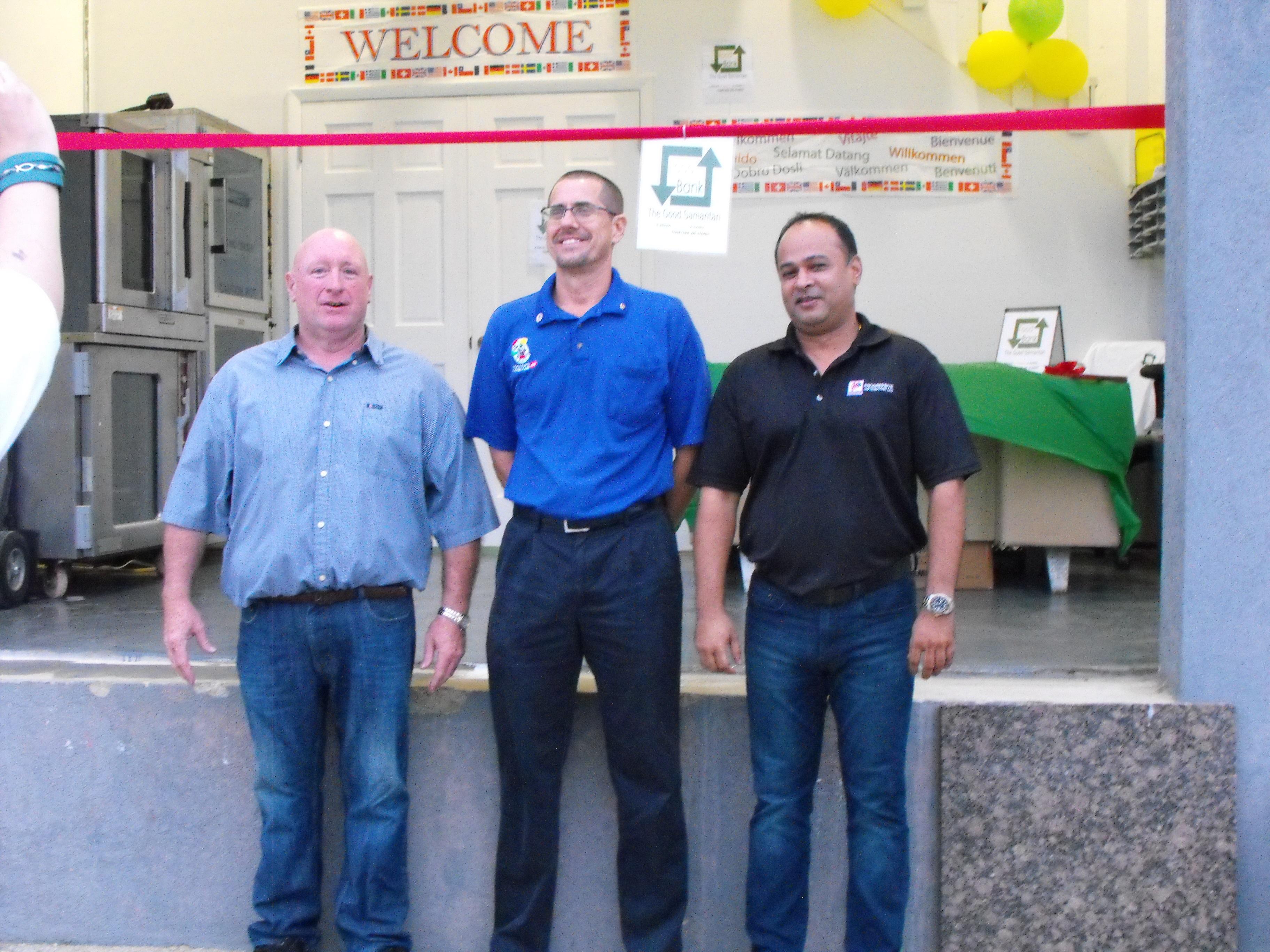 Food Bank Opening