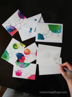 Art cards by Marion C. Hoepflinger