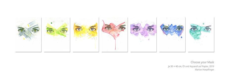 Choose your Mask by Marion Hoepflinger