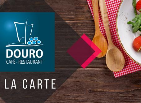 Este Domingo, 18 de Outubro de 2020, é dia de comer à La Carte.