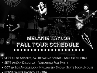 FALL 2019 TOUR SCHEDULE