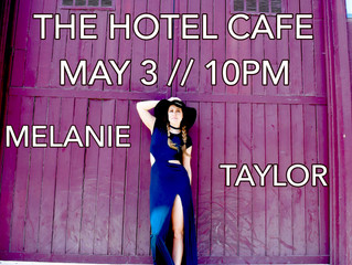 THE HOTEL CAFE - MAY 3RD - 10 PM