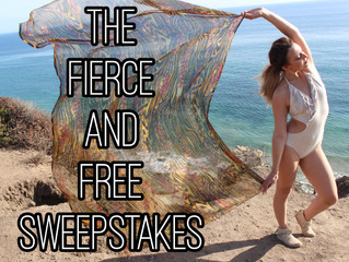 Enter to Win the Fierce and Free Sweepstakes by October 17th!