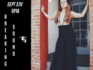 MELANIE TAYLOR ANNOUNCES SHOW WITH BREAKING SOUND SEPT 5TH @ADULTS ONLY