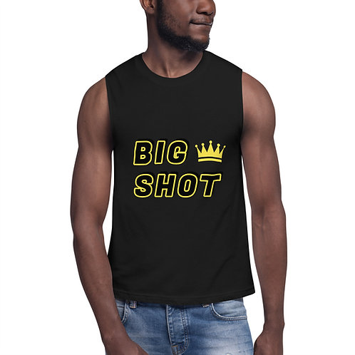 BIG SHOT Muscle Tee Mens (black)