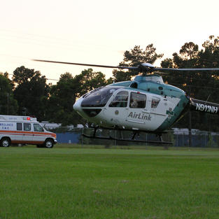 Surf City EMS with Airlink's New (at the time) Bird