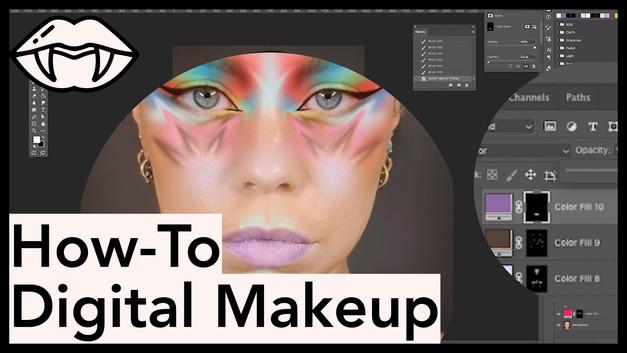How-To Digital Makeup