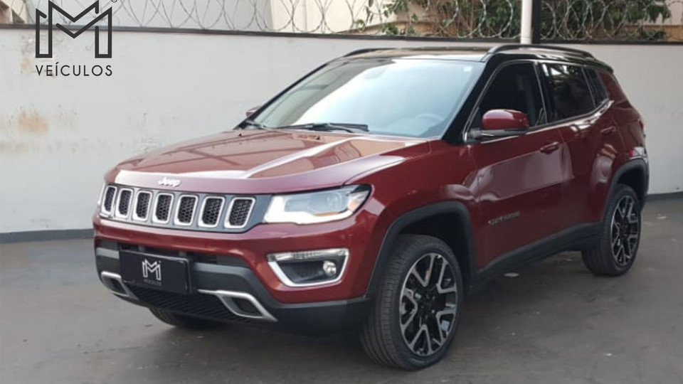 Jeep Compass Limited 4x4 Diesel Completo 2020