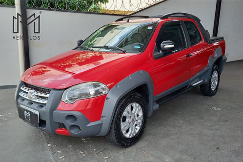 STRADA CABINE DUPLA ADVENTURE 1.8 FLEX COMP 2010  - 📞/📱 Whatsapp: 16 3627.0400