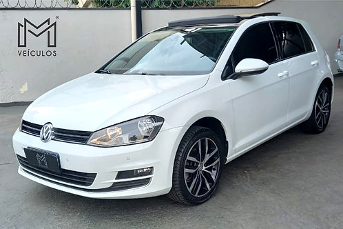 GOLF HIGHLINE 1.4 TSI C/ TETO COMPLETO GAS - 📞/📱 Whatsapp: 16 3627.0400