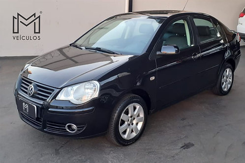 Polo sedan 1.6 Flex completo  2007 + couro 🚗 - 📞/📱 Whatsap 16 3627.0400