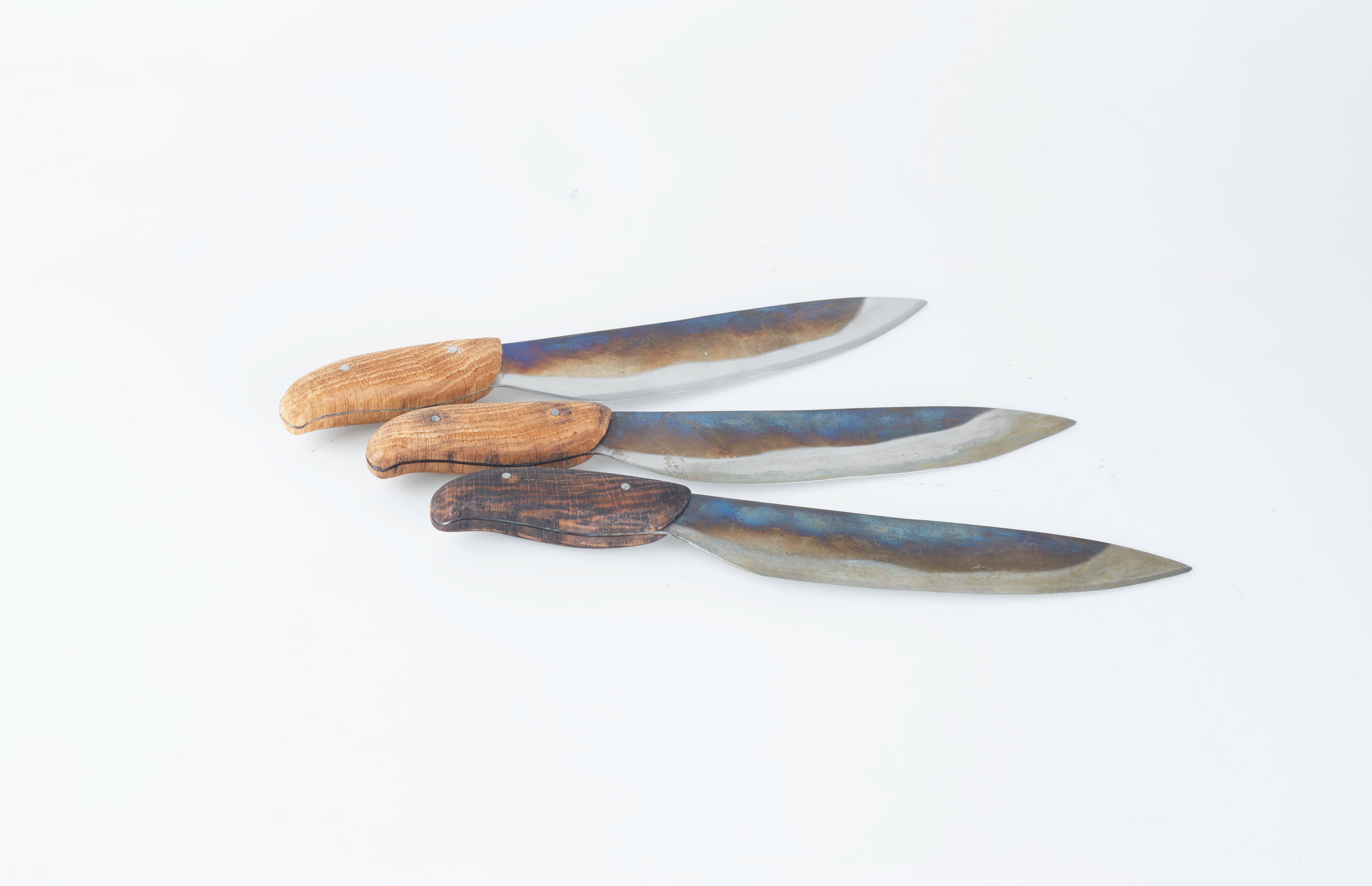 Messer mit Gebrauchsspuren