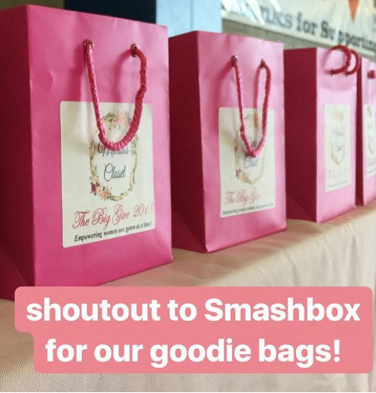 Swag bags by Smashbox Cosmetics