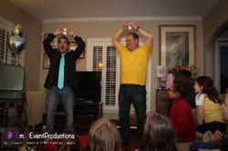 Magic trick Do as I Do - water magic