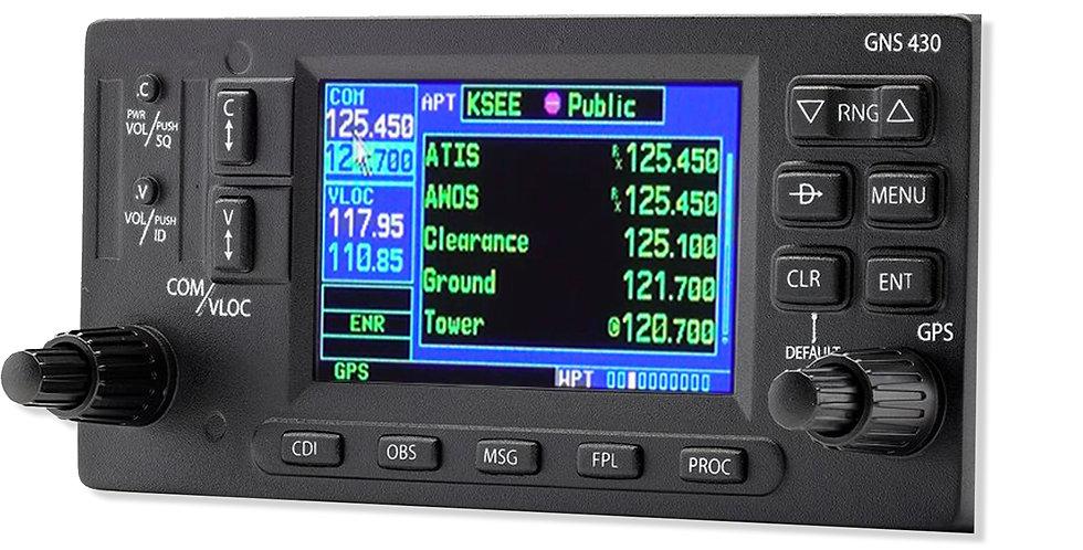 GPS GNS430 - Plug&Play