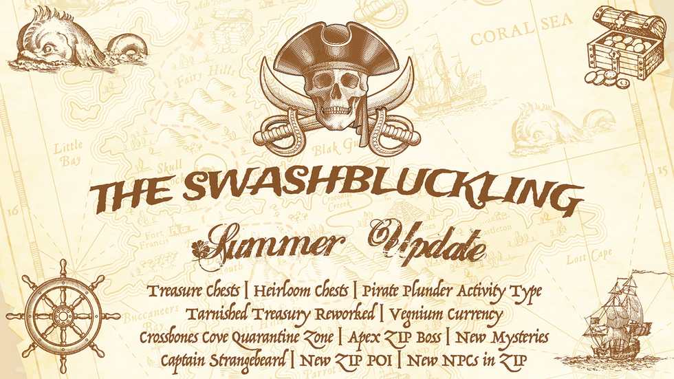 Introducing the Swashbuckling Summer Update!