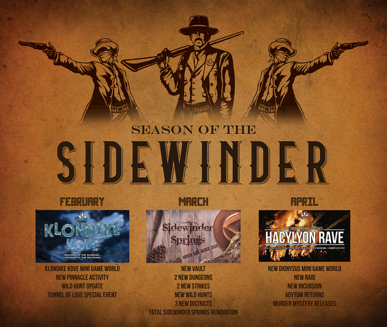 Presenting the Season of the Sidewinder!