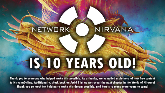 Network Nirvana 10th Anniversary Director's Update