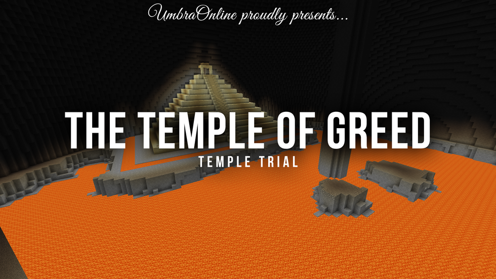 UmbraOnline Sneak Peak: The Temple of Greed