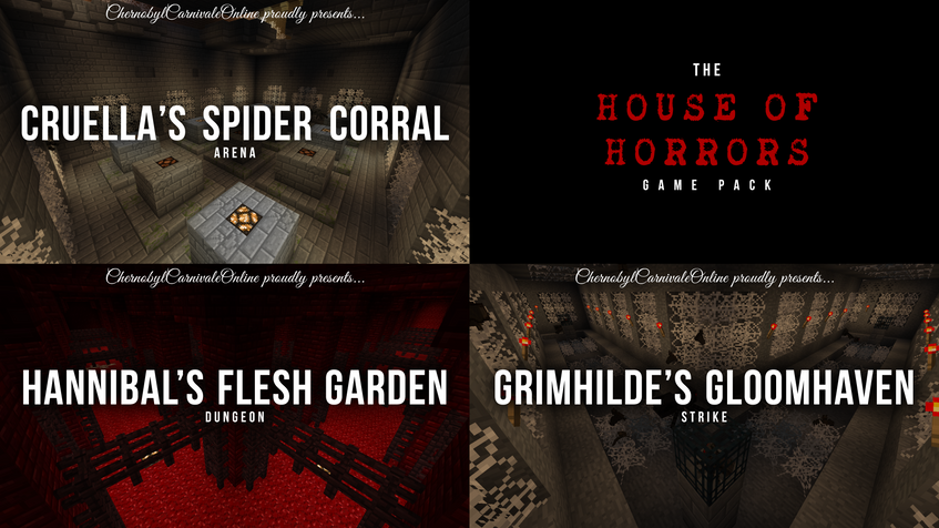 HOUSE OF HORRORS GAME PACK