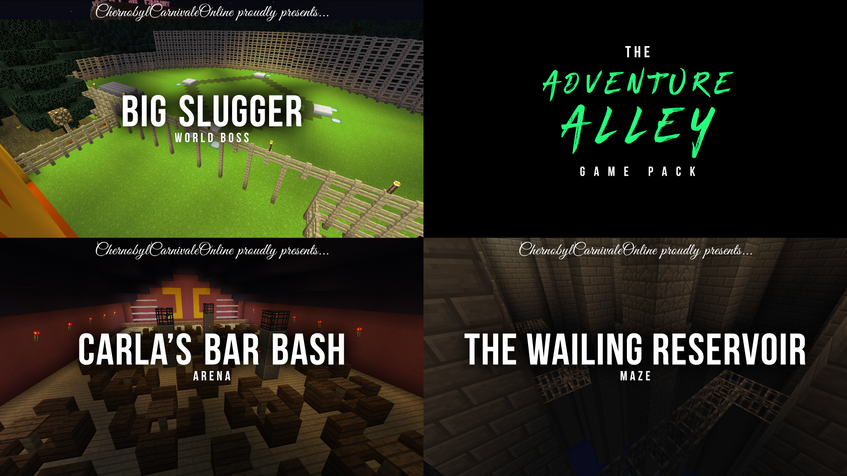 ADVENTURE ALLEY GAME PACK