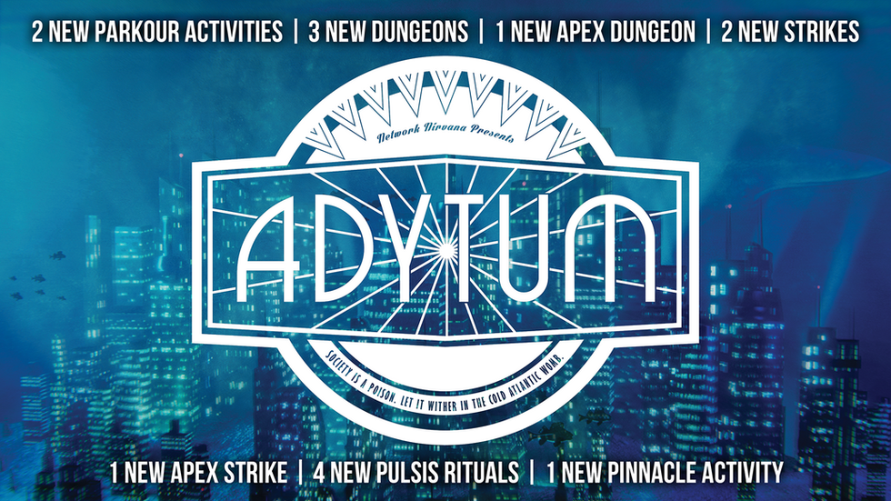 Welcome Back To Adytum
