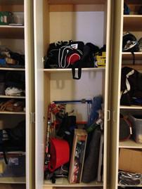 Garage Reorganziation BEFORE #2