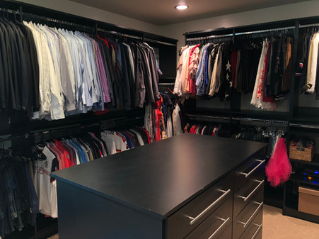 Master Closet Move In AFTER #3