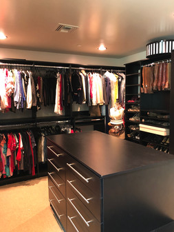 Master Closet Move In AFTER #1