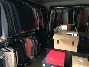 Master Closet Move In BEFORE #3