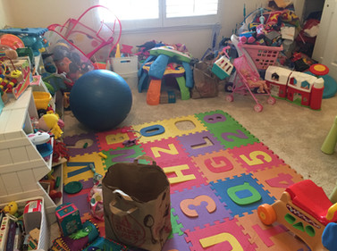 Playroom makeover BEFORE #1