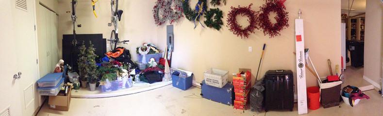 Garage Reorganziation BEFORE #1