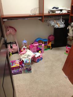 Little Girl Playroom BEFORE #1