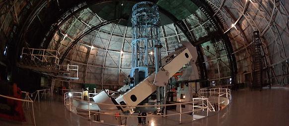 Télescope de l'observatoire du mont Wils