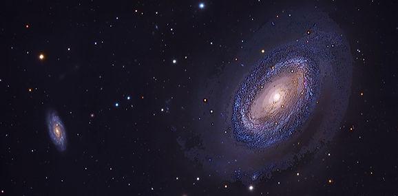 Galaxie, image de Brunor