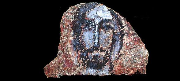 Peinture sur pierre, par Brunor